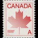 canada-A stamp