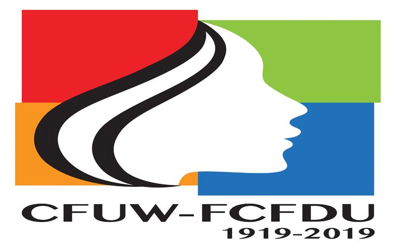 CFUW stamp